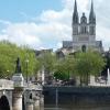 Zoom sur la cathédrale d'Angers