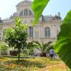 Les jardins d'été de la place du Ralliement