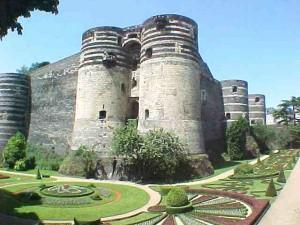 Château de la ville d'Angers