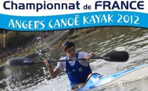 Compétition de canoë kayak à Angers