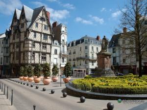 Angers centre ville