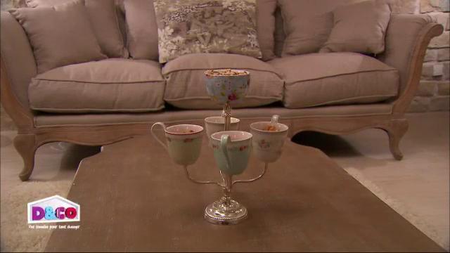 Chandelier tasses La Petite Marchande