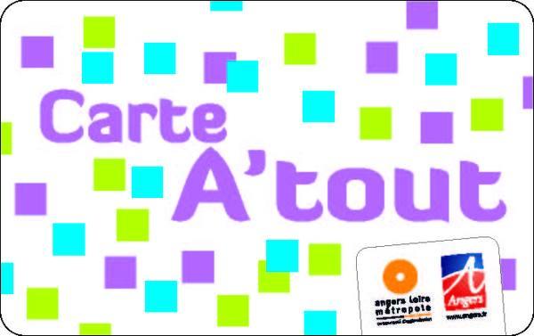 Carte Atout pour prendre les transports publics à Angers